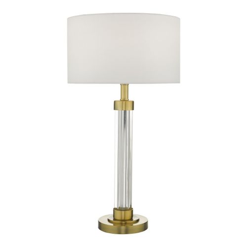 Heitor Table Lamp Bronze & Glass Base Only, double insulated, BXHEI4263-17